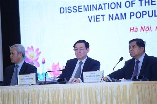 2019年越南人口和住房普查正式结果对外公布 hinh anh 1