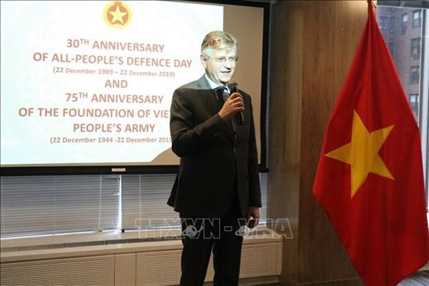 联合国对越南有效开展维和行动给予表扬 hinh anh 1