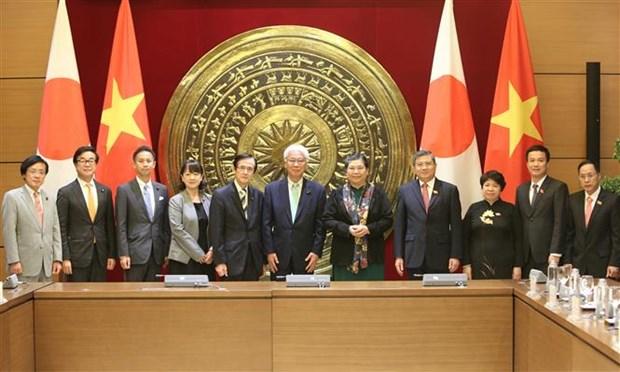 加强越南与日本的议会合作 hinh anh 2