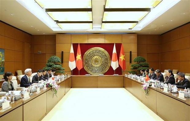 加强越南与日本的议会合作 hinh anh 1