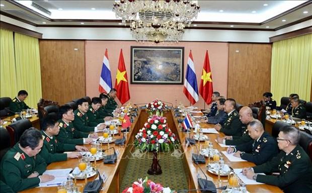 泰国皇家武装部队司令邦比巴·本亚撒里对越南进行正式访问 hinh anh 2