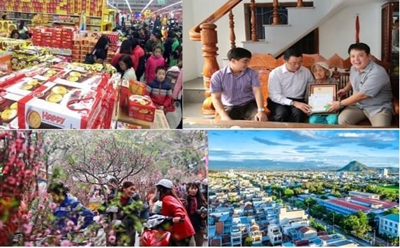 越南政府总理要求采取措施确保人民过上一个安全快乐的春节 hinh anh 1
