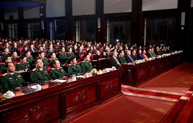 表彰2009-2019年全民国防建设事业中先进代表 hinh anh 2
