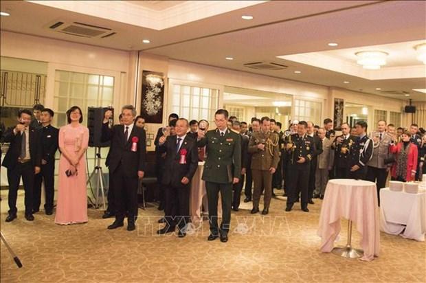 越南人民军建军75周年纪念活动在日本和西班牙举行 hinh anh 1