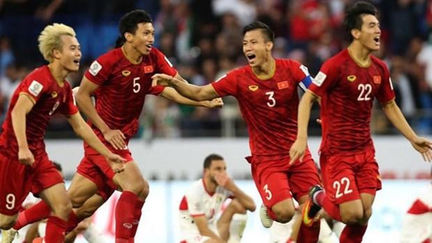 国际足联最新排名:越南队名列世界94位 hinh anh 1
