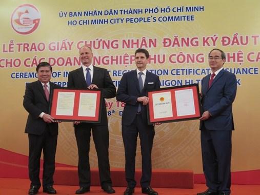 胡志明市高科技园区吸引投资7.77亿美元 唯一外资项目来自香港 hinh anh 1