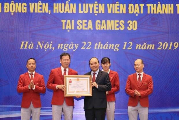 阮春福总理:越南体育为国争光 hinh anh 2