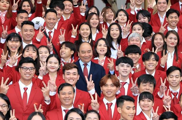 阮春福总理:越南体育为国争光 hinh anh 1