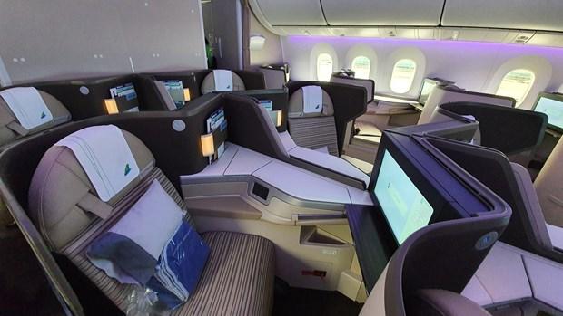 越竹航空正式将波音787-9梦想飞机投入运营 hinh anh 1