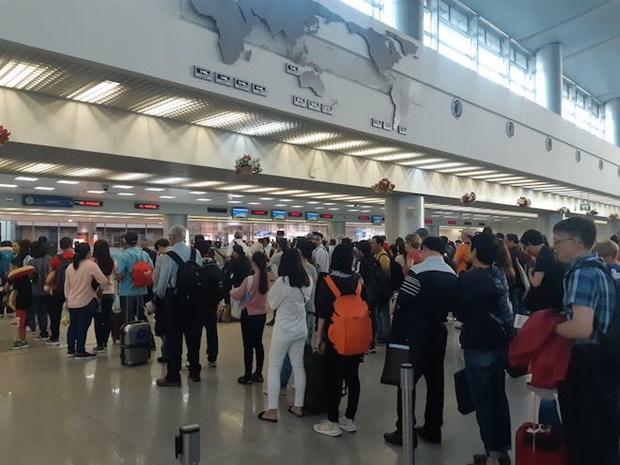 2020春节放假期间新山一国际机场游客吞吐量预计将超370万人次 hinh anh 1