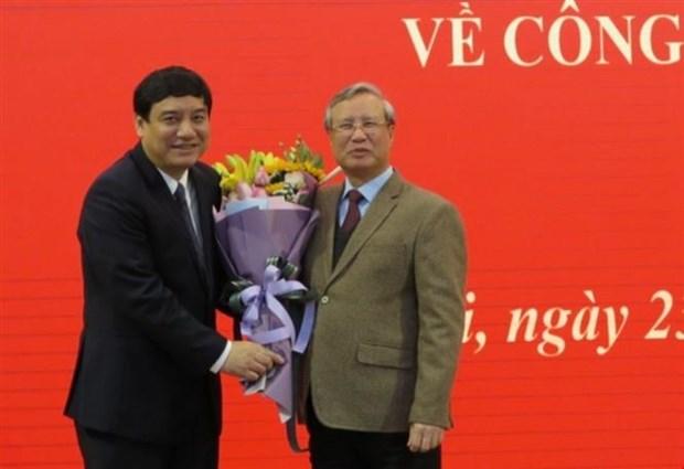 阮德荣同志担任越共中央办公厅副主任 hinh anh 1