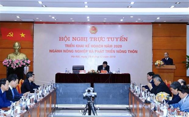 政府总理阮春福:2025年越南农业必须进入世界十大农产品出口国行列 hinh anh 1