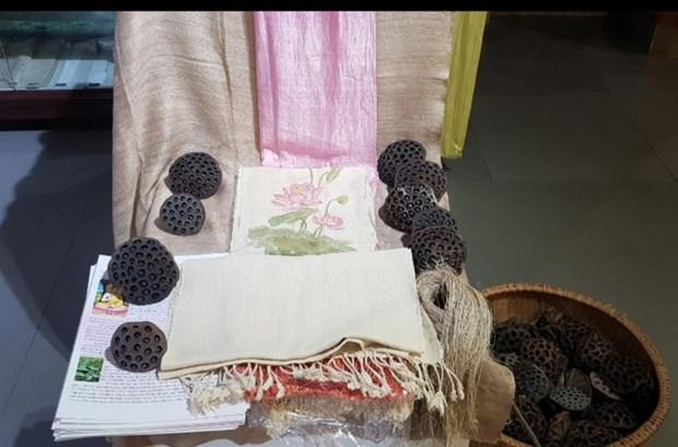 越南人社会生活中的丝绸纺织业 hinh anh 2