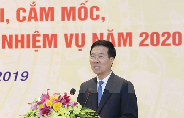 越共中央对外部长高度评价对外通讯报道工作 hinh anh 2