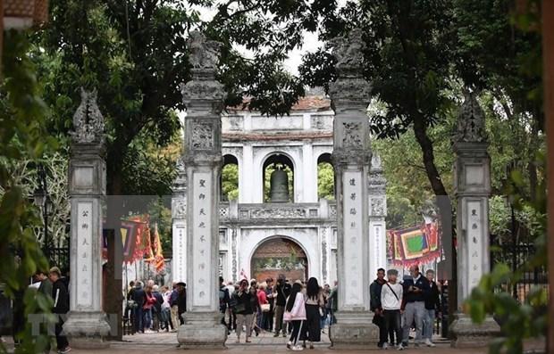 河内市接待国际游客量突破700万人次 hinh anh 1