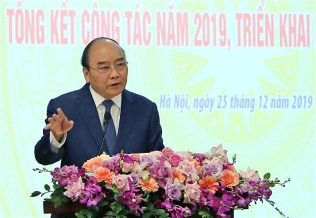 阮春福总理:在任何情况下都要确保供电充足 hinh anh 1