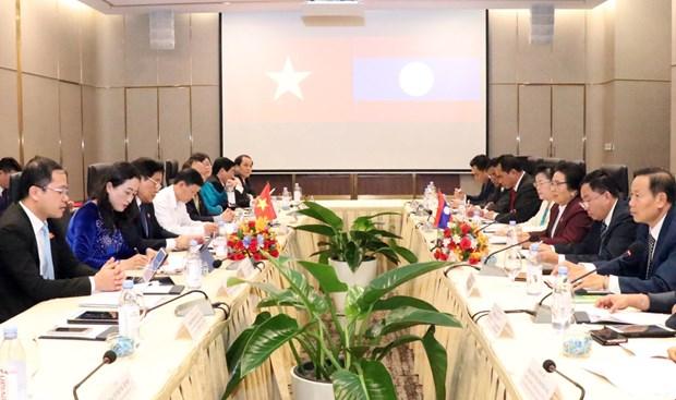 越老国会致力于加强民族工作领域的合作 hinh anh 1