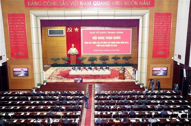 2019年组织党建工作全国总结会议在河内召开 hinh anh 1