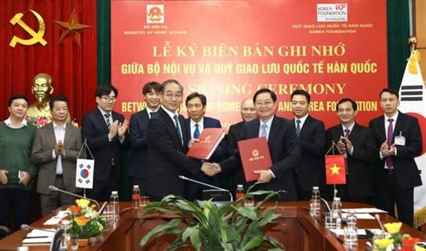 越南与韩国青年推进交流与合作 hinh anh 1