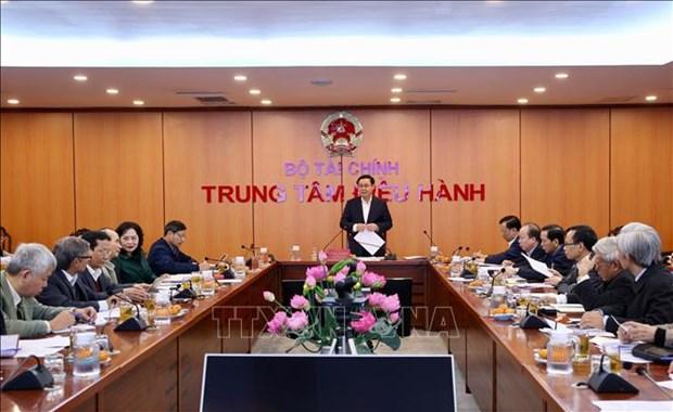 政府副总理王廷惠主持召开国家货币、财政政策咨询委员会会议 hinh anh 1
