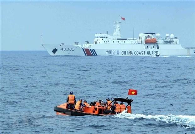 越中举行北部湾湾口外海域工作组第十二轮磋商和海上共同发展磋商工作组第九轮磋商 hinh anh 1