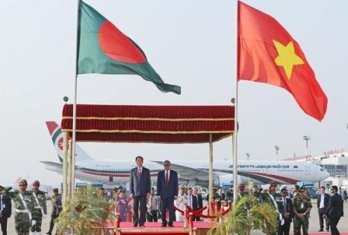 越南与孟加拉国力争双边贸易额达20亿美元的目标 hinh anh 1