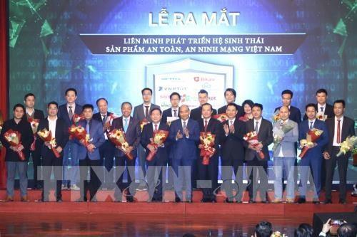 越南网络安全产品生态系统发展联盟正式亮相 hinh anh 1