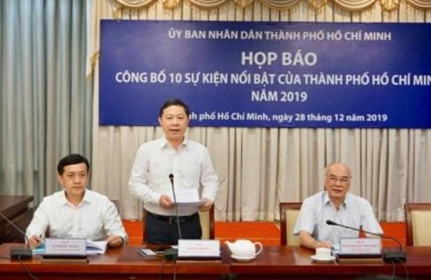 胡志明市2019年十大事件评选结果出炉 hinh anh 2