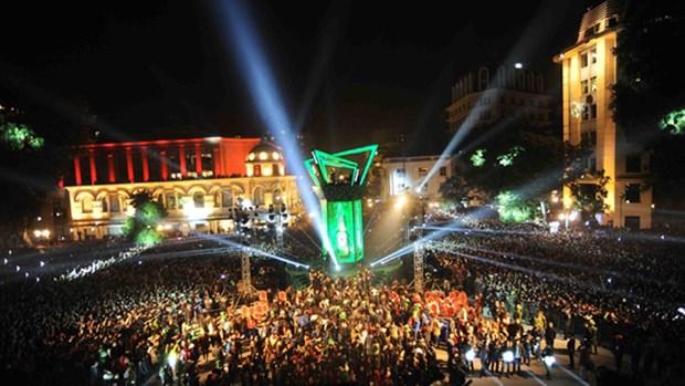 热闹非凡的多项迎新年活动将于31日晚在河内市还剑湖举行 hinh anh 1