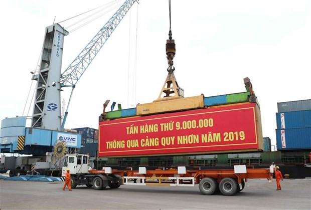 2019年归仁港货物吞吐量同比增长9% hinh anh 1