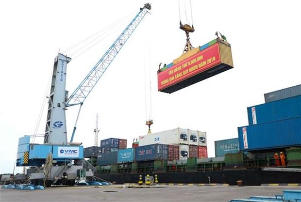 2019年归仁港货物吞吐量同比增长9% hinh anh 2