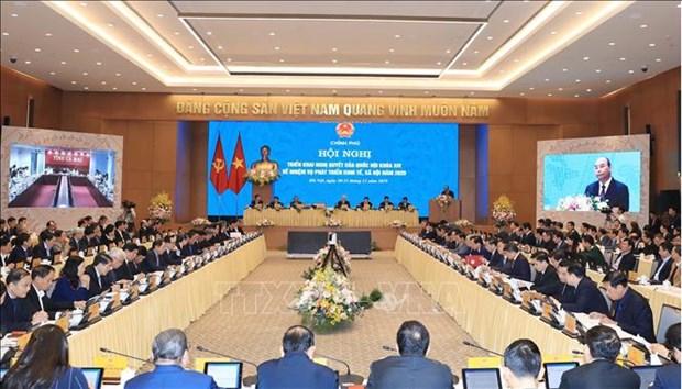 阮春福:越南的经济增长率名列地区乃至世界前茅 hinh anh 1