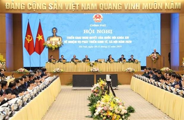 越共中央总书记、国家主席阮富仲出席政府与各地方视频会议并发表重要讲话 hinh anh 2