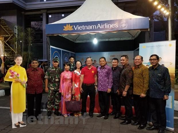 越南在印尼登巴萨街头节推广旅游形象 hinh anh 2