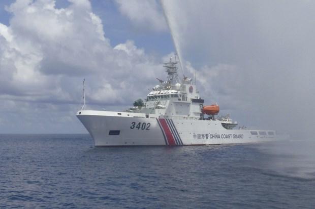 印尼抗议中国船只进入专属经济区 hinh anh 1