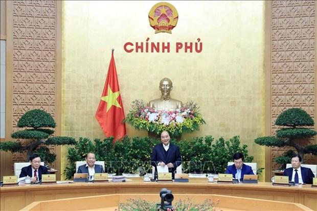 政府12月份例行会议集中讨论立法工作 hinh anh 1