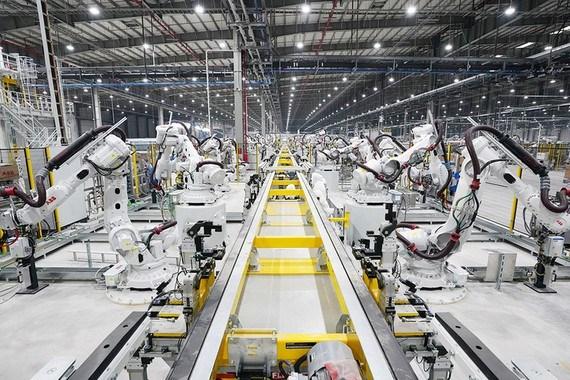 胡志明市工业生产指数年均增长7.9% hinh anh 1