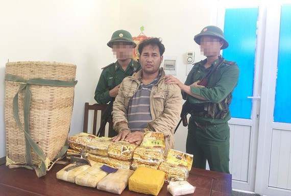 越南广治省与老挝联合破获一起从老挝运输毒品入境越南的案件 hinh anh 1