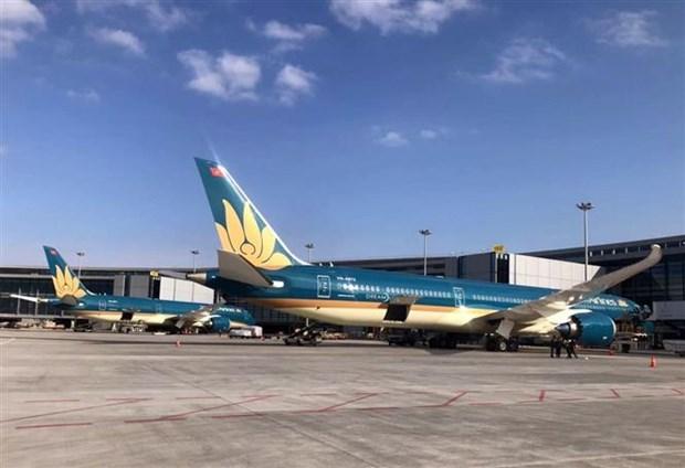 越航正式将波音787-10梦想飞机执飞上海至胡志明市航线 hinh anh 1