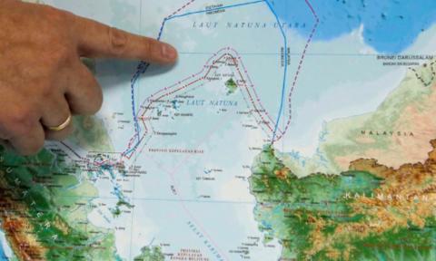 印尼驳斥中国对纳土纳群岛的主权声索 hinh anh 1