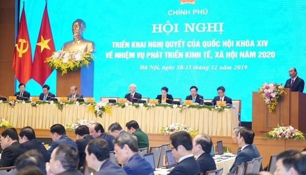 发展经济是新年之初的重心任务 hinh anh 1