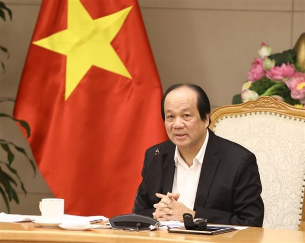 政府办公厅主任梅进勇部长:最大限度地降低不必要通函的签发 hinh anh 2