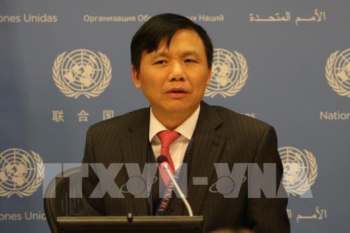 越南正式担任本月联合国安理会轮值主席国 hinh anh 2