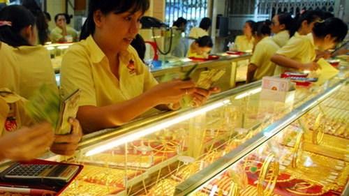 1月3日越南国内黄金价格上涨23万越盾 hinh anh 1