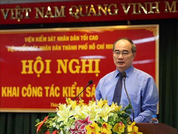 胡志明市人民检察院及时解决多起复杂案件获民众称赞 hinh anh 1