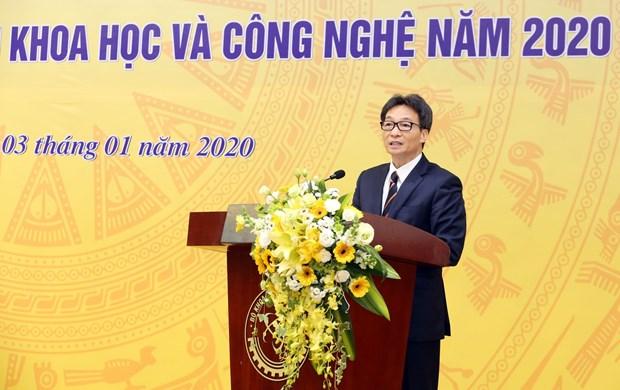 武德儋副总理:为科技创新活动营造更加宽松的环境 hinh anh 1