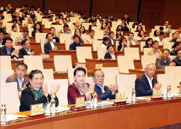 越南国会办公厅举行会议 部署2020年党组织工作 hinh anh 1