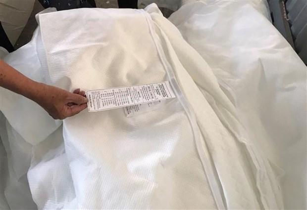 胡志明市海关没收三个集装箱虚构原产地的商品 hinh anh 1