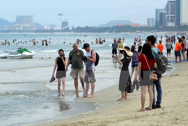 岘港市提出2020年接待游客人数达980万人次的目标 hinh anh 1