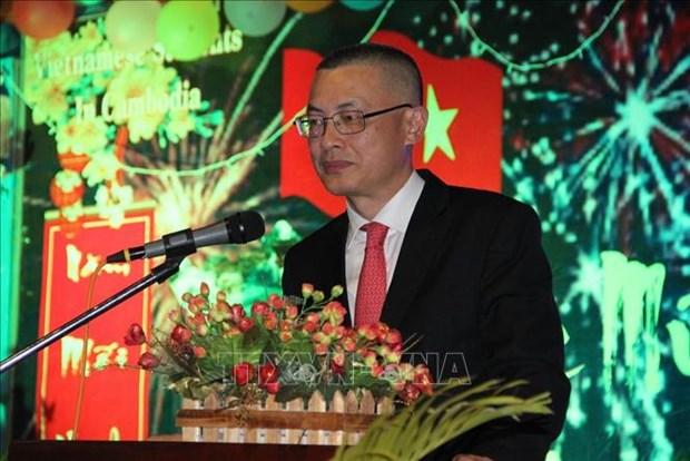 旅居澳大利亚和柬埔寨越南人喜迎2020庚子鼠年新春 hinh anh 2